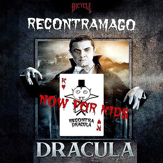 RecontraMago Dracula - El Conde Drácula irá a por Sus víctimas una a una, provocando su misteriosa desaparición - Juego de Paquete con Cartas Bicycle - Incluye Tutorial por Magos Profesional (NIÑOS):