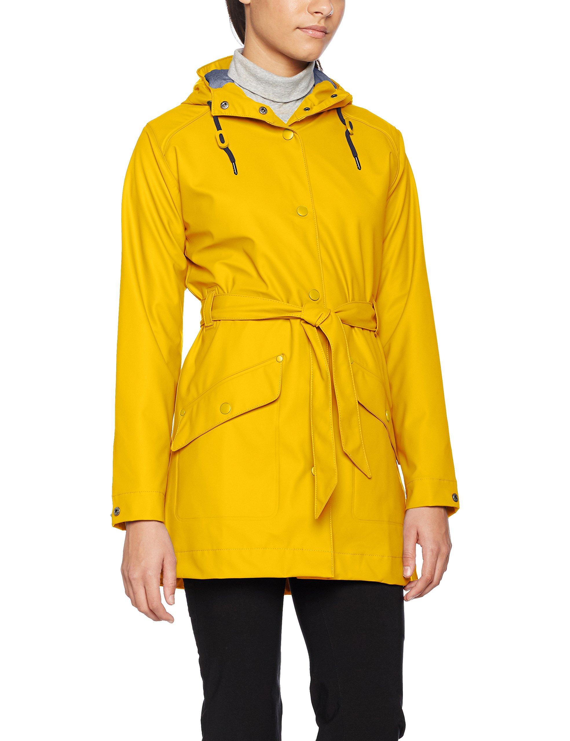 Helly Hansen Women's Kirkwall Rain Coat, Essential Yellow, Large
