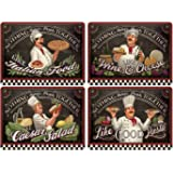 Pimpernel Chef's Specials Placemats - Set of 4 (Large)