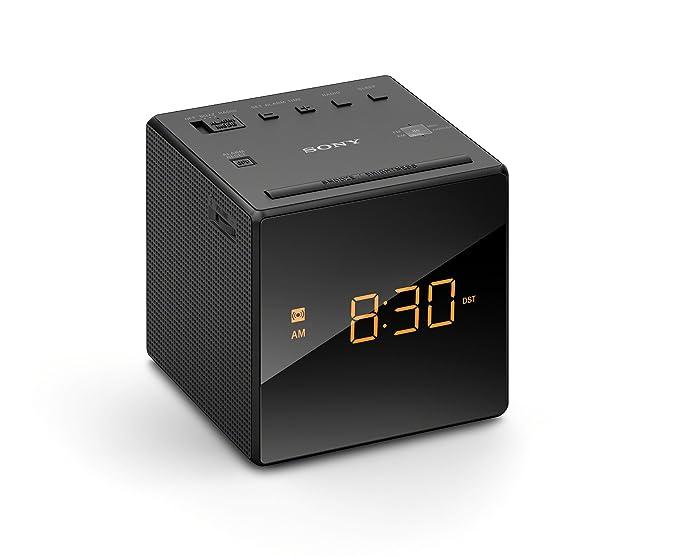 Sony ICF-C1 Reloj Analógica - Radio (Reloj, Analógica, Am,FM, 87,5-108 MHz, 530-1710 kHz, 6,6 cm): Amazon.es: Electrónica