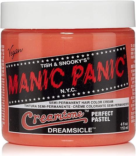 Manic Panic - Dreamsicle Pastel Classic Creme Vegan Cruelty Free Semi-Permanent Hair Colour 118ml