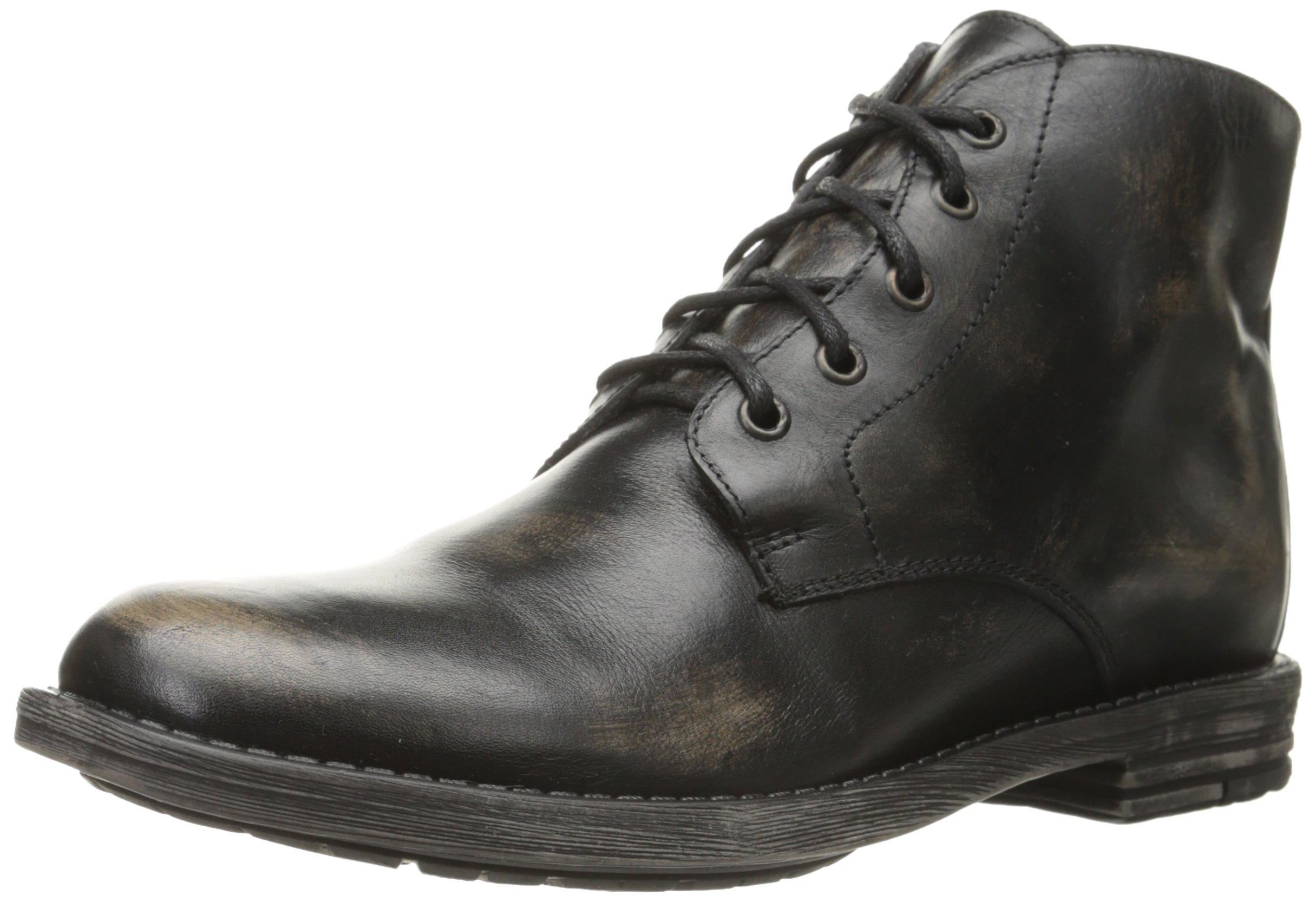 Bed Stu Men's Hoover Chukka Boot, Black Handwash, 9 M US
