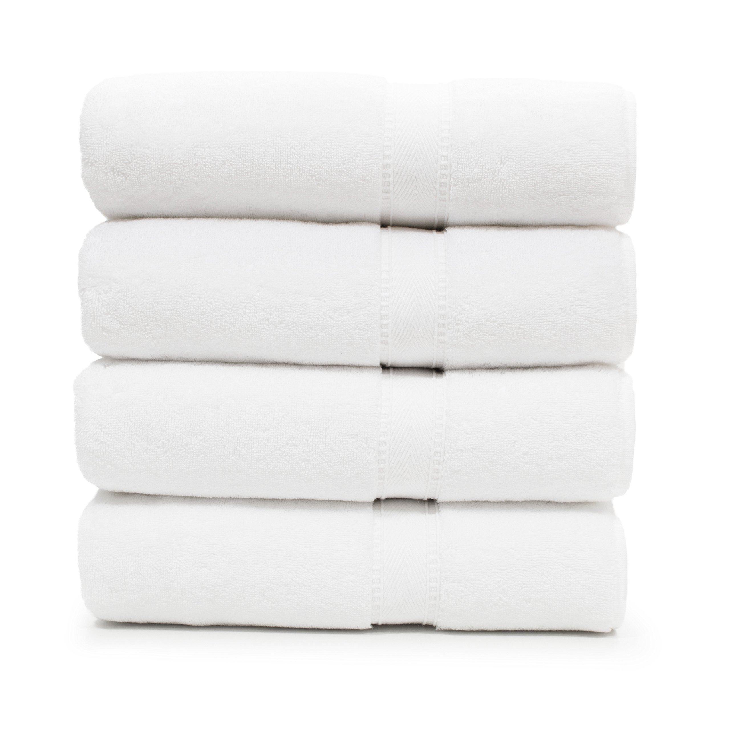 Linum Home Textiles SN00-4BT Bath Towel, White