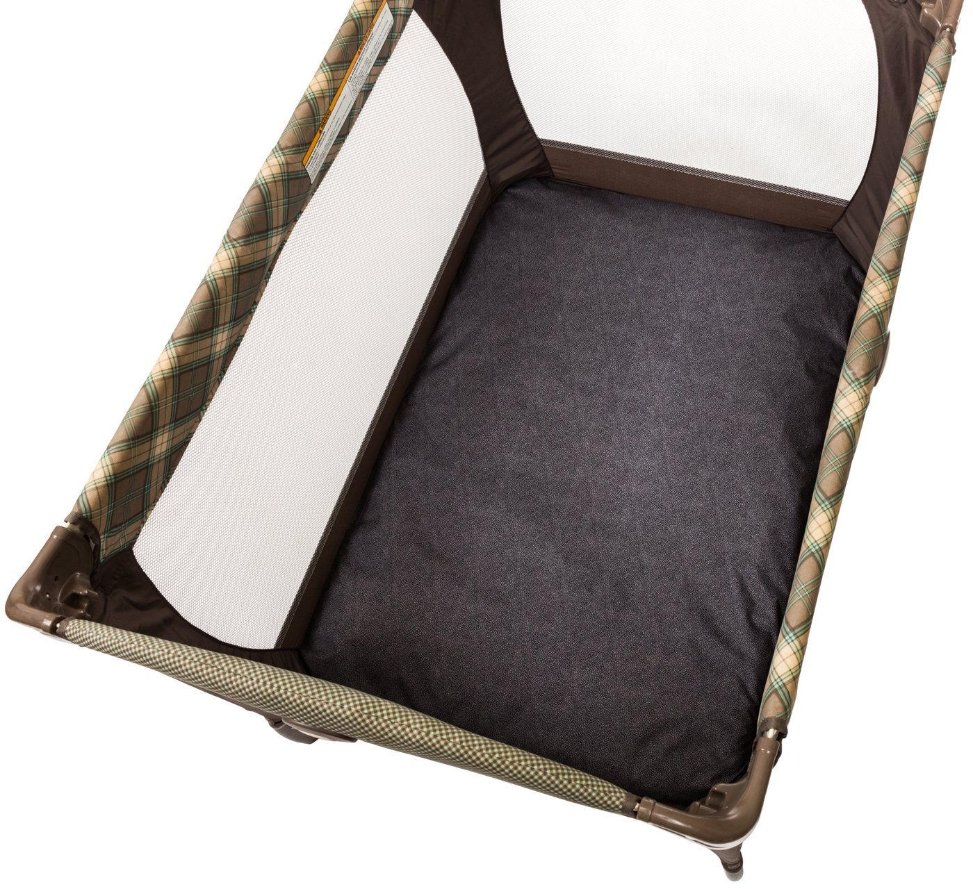 Chicco Waterproof Playard Sheets (Set of 2) Baby Infant Portable Playard Bed Genesis Gray 180009