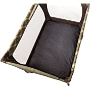 Chicco Waterproof Playard Sheets (Set of 2) Baby Infant Portable Playard Bed Avena Gray