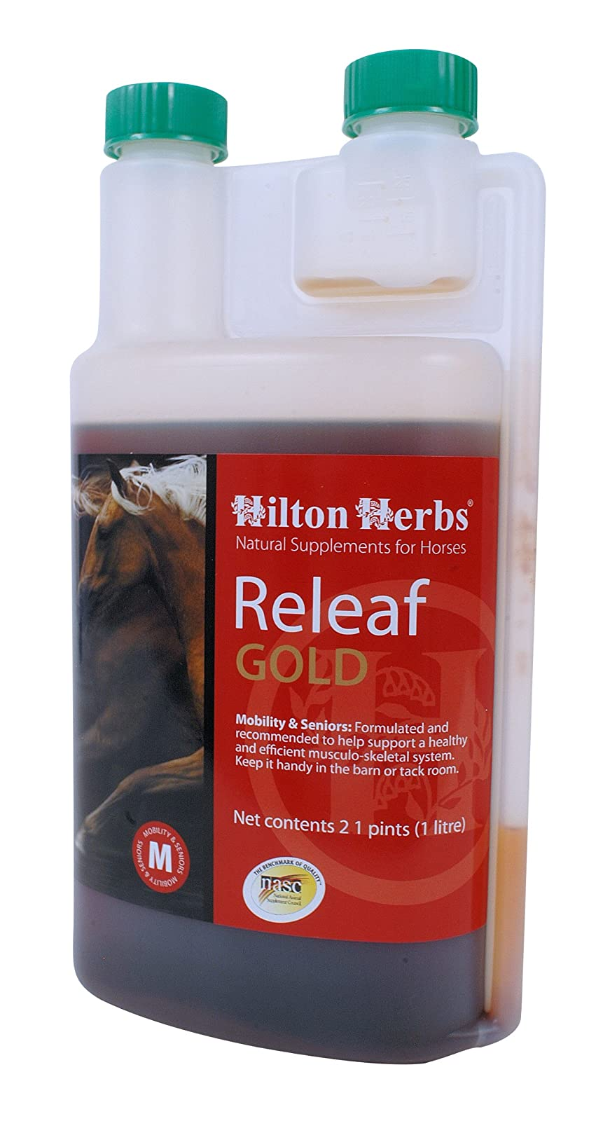 Hilton Herbs Releaf Gold Herbal Mobility SupplementHorses 71144 - 1