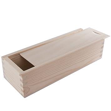 Cepillo de madera searchbox/estuche con corredera superior/escuela suministros de arte dibujo organizador caja: Amazon.es: Oficina y papelería