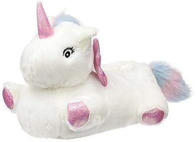 4b1891b6751f New Look Women s Nantastic Unicorn Low-Top Slippers (White)