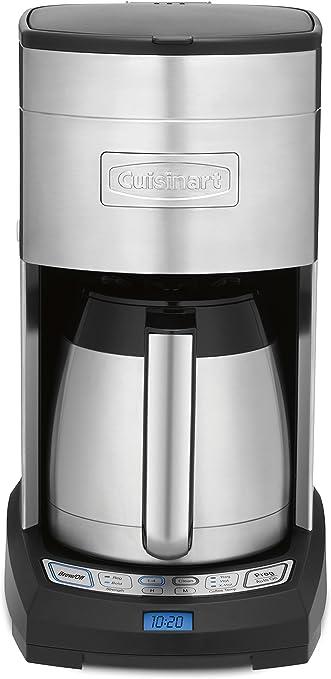 Amazon.com: Cafetera para 12 tazas, de Cuisinart, negro ...