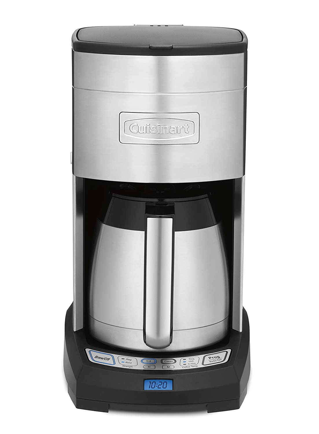 Cuisinart 12-cup cafetera 10-cup Stainless Steel/Black: Amazon.es ...
