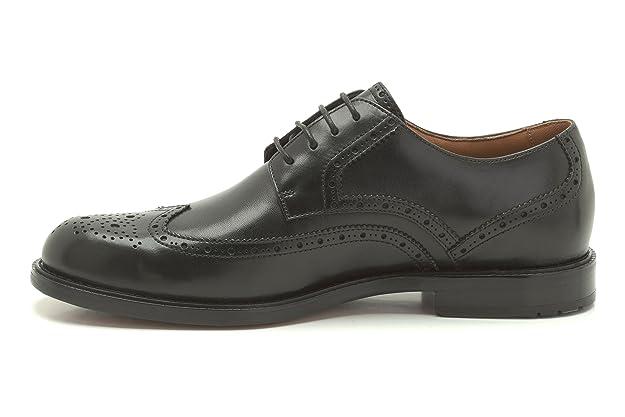 Clarks Zapatos con Cordones Para Hombre, Color Black, Talla 8 UK H/42 EU