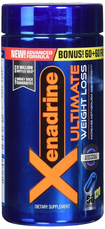 Xenadrine Xtreme Thermogenic caps Supliment de pierdere în greutate xenadrine