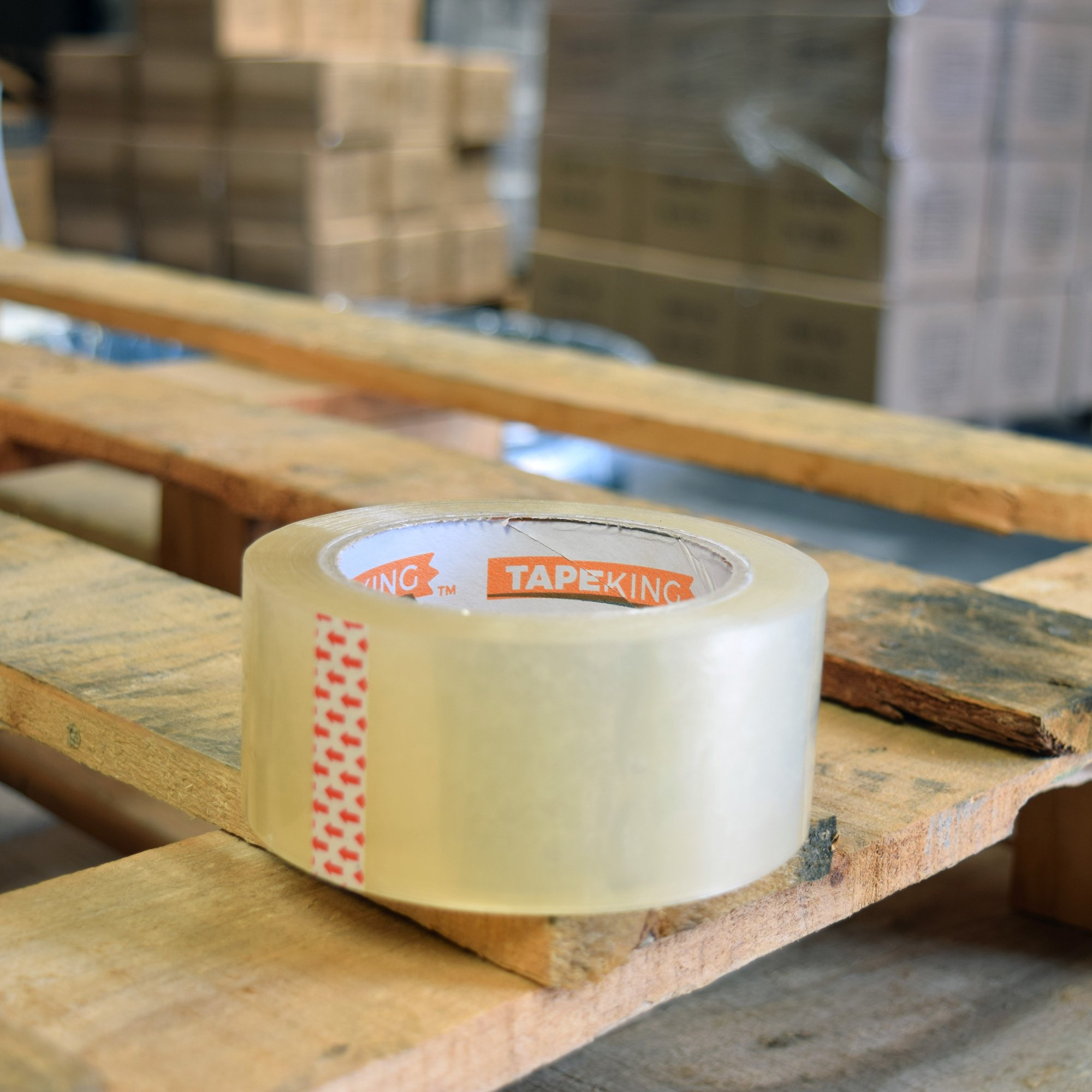 Tape King Clear Packing Tape Super Thick - 60 Yards Per Roll (Case of 36 Rolls) - Strong 3.2mil, Heavy Duty Adhesive Commercial Depot Tape for Moving, Sealing, Packaging Shipping, Office & Storage by Tape King (Image #5)