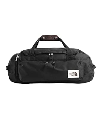 99e36f1e94 Amazon.com | The North Face Berkeley Duffel-M, TNF Black Heather ...