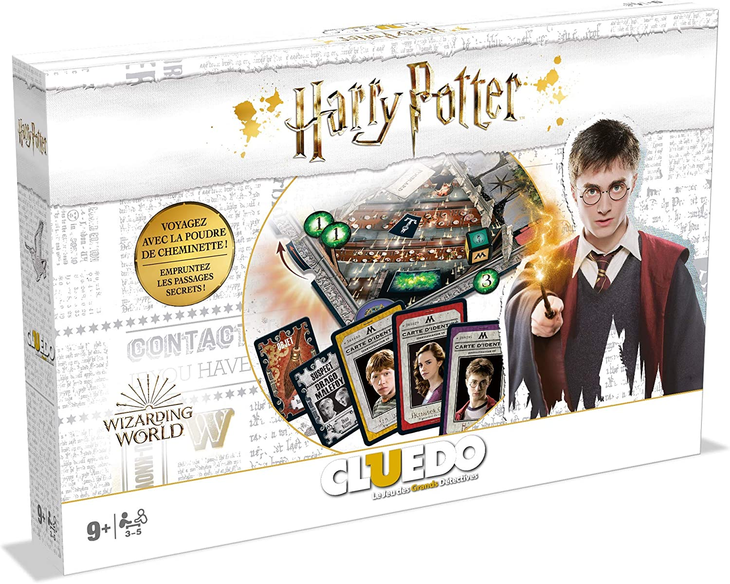 CLUEDO - Harry Potter Deluxe (FR) New Version: Amazon.es: Juguetes y juegos