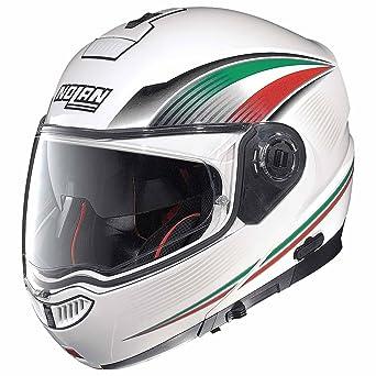 Nolan N104 Absolute Italy casco de moto Modular de policarbonato con sistema N-Com color