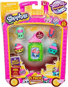 Shopkins S8 W2 Asia Toy 5 Pack