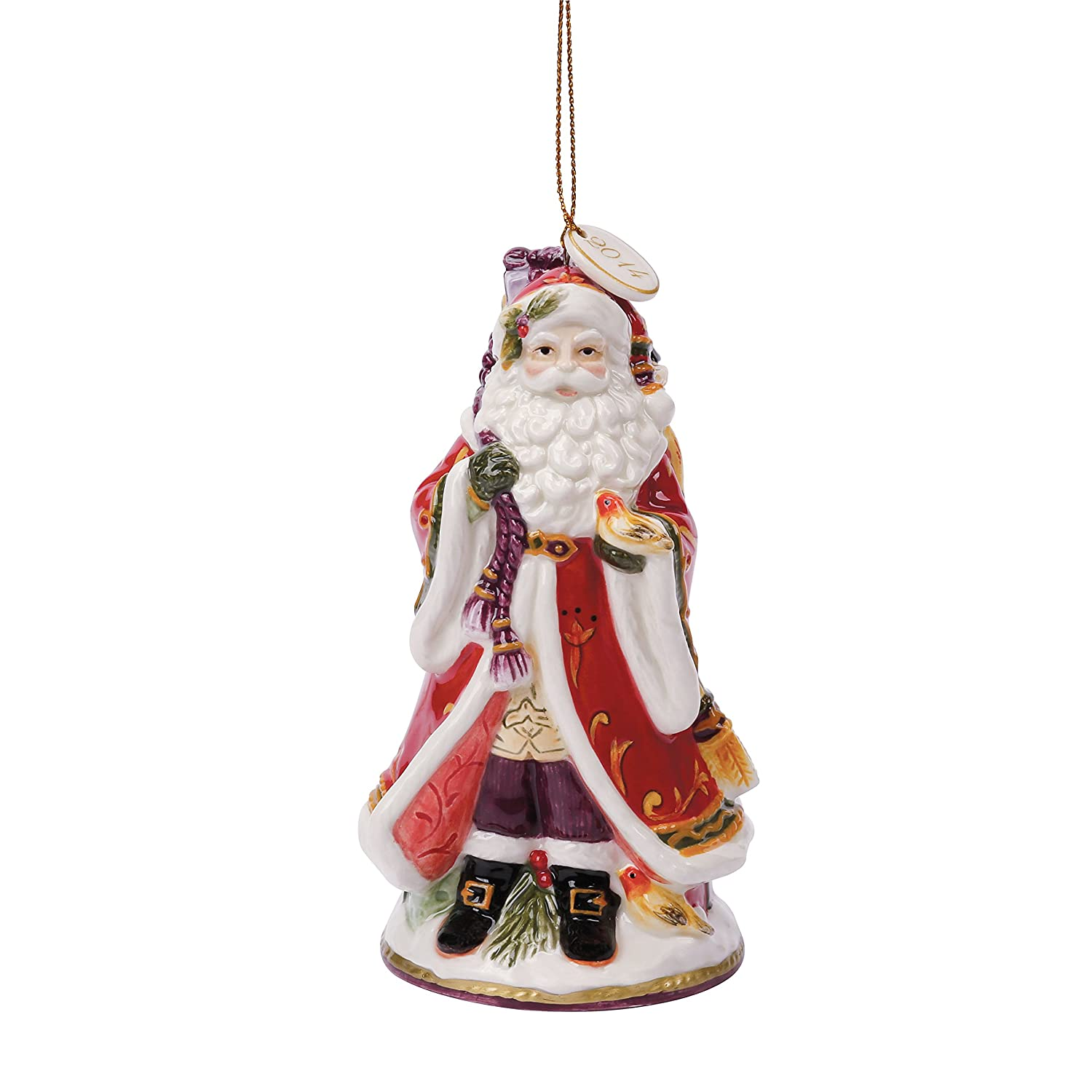 Amazoncom Regal Holiday Collection, Dated Bell Santa Figurine Home &