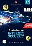 BitDefender Internet Security Latest Version (Windows) - 3 User, 3 Years (Activation Key Card)
