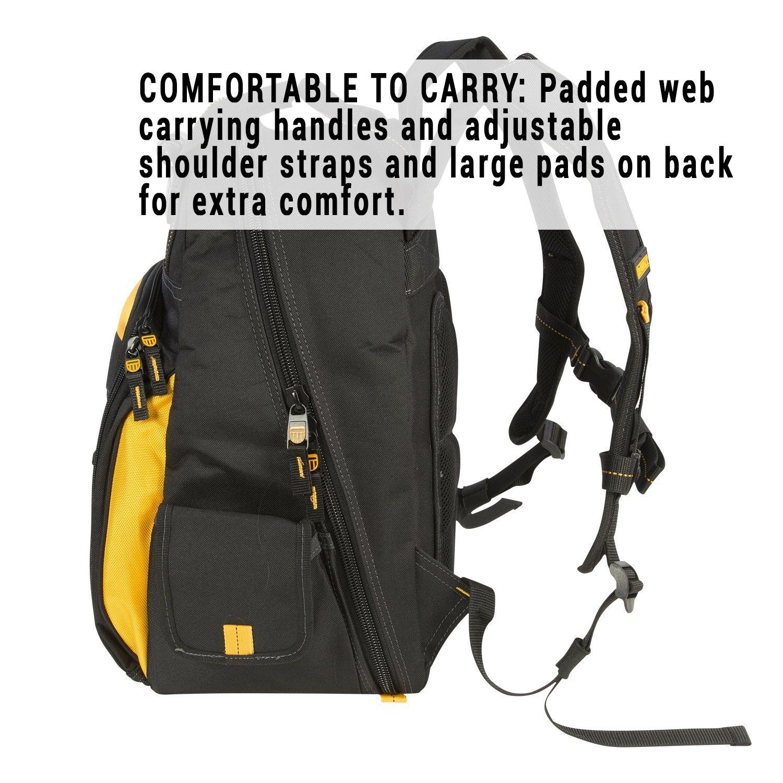 DEWALT DGL523 Lighted Tool Backpack Bag, 57-Pockets by DEWALT (Image #9)