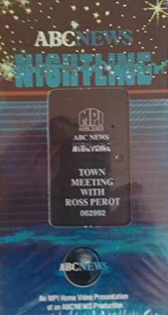 Amazon com: ABC News Nightline: Town Meeting With Ross Perot