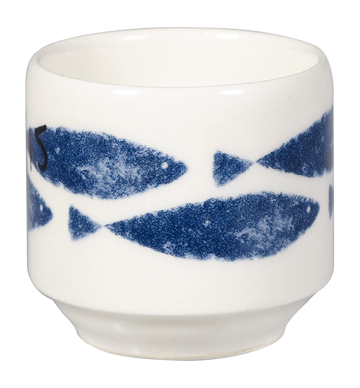 Couture Sieni Fishie Egg Cup, Set of 2, Multi-Colour Churchill China COUT00891