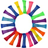 BeYumi Marble Fidget Toys (20 PCS) - Relieve Stress, Increase Focus, Soothing Marble and Mesh Fidgets for Children, Adults, Kid and Those with ADHD ADD OCD Autism Anxiety
