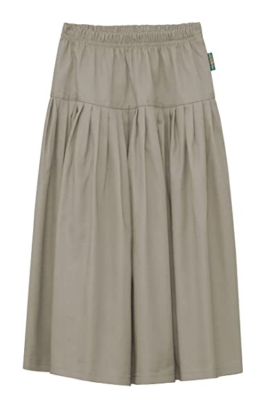 Long Twill Skirt