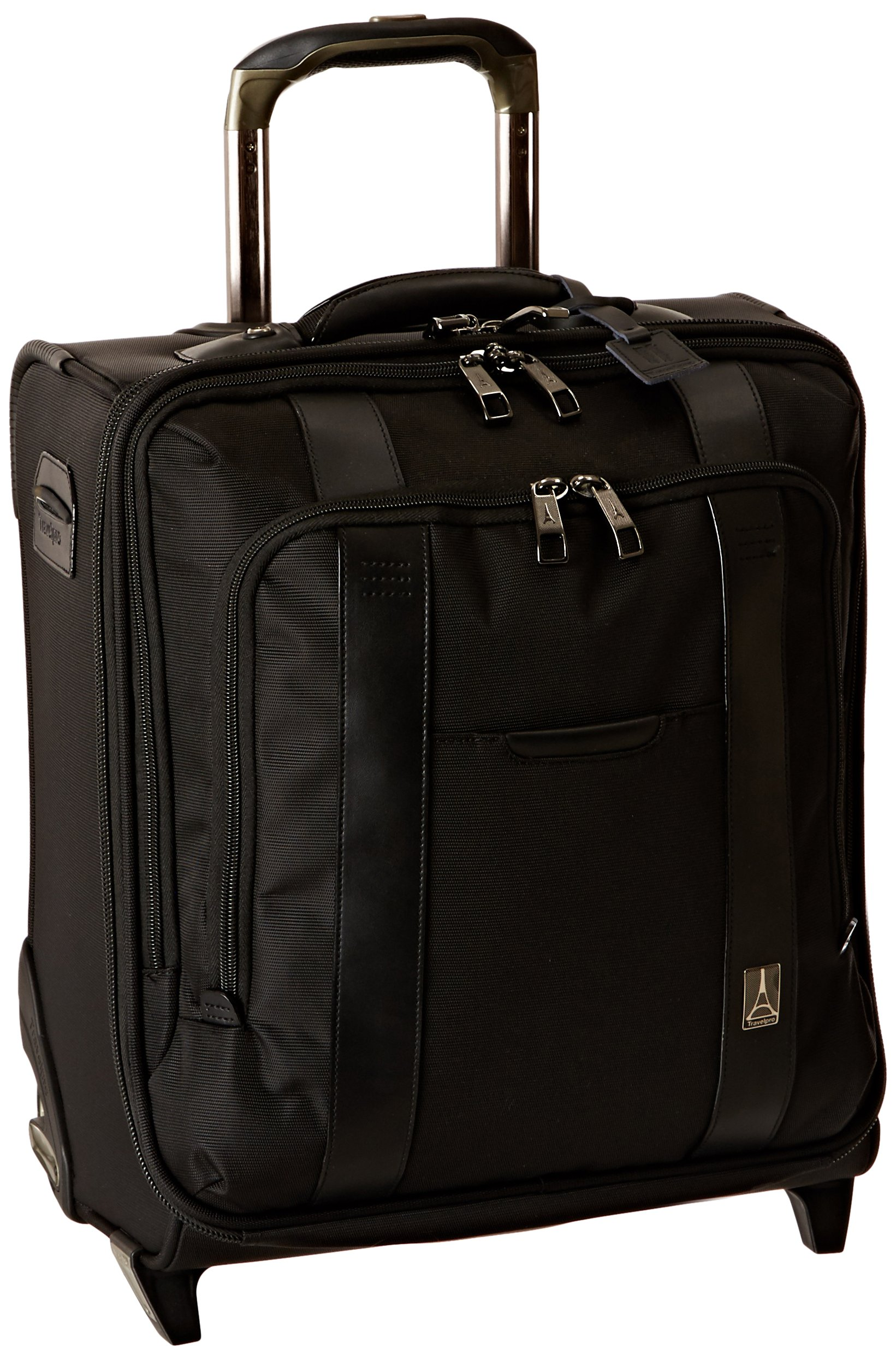 Travelpro Executive Choice Crew 16 Inch Rolling Business Brief, Black, One Size by Travelpro (Image #1)