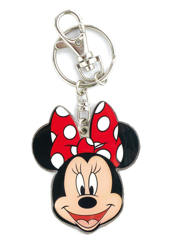 Porte-cl/é Minnie Mouse en /étain