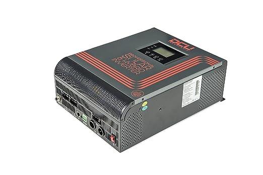 Inversor Cargador Solar Híbrido 3KVA-2400W DC24V: Amazon.es ...