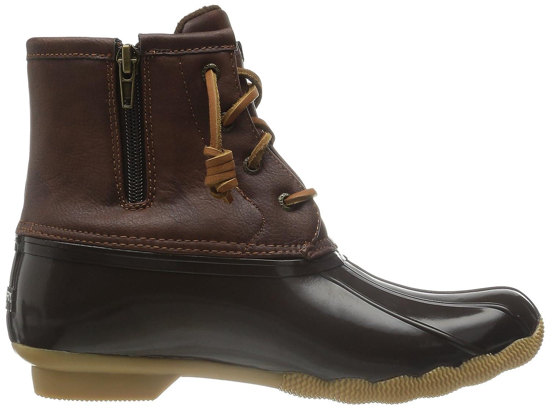 Brown//Brown Sperry Saltwater Rain Boot Little Kid//Big Kid K 12 M US Little Kid Sperry Top-Sider Saltwater Boot