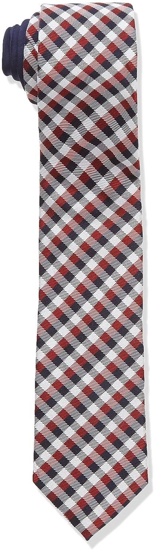 Tommy Hilfiger Tie 7cm TTSCHK16403, Corbata para Hombre, Rojo (620 ...