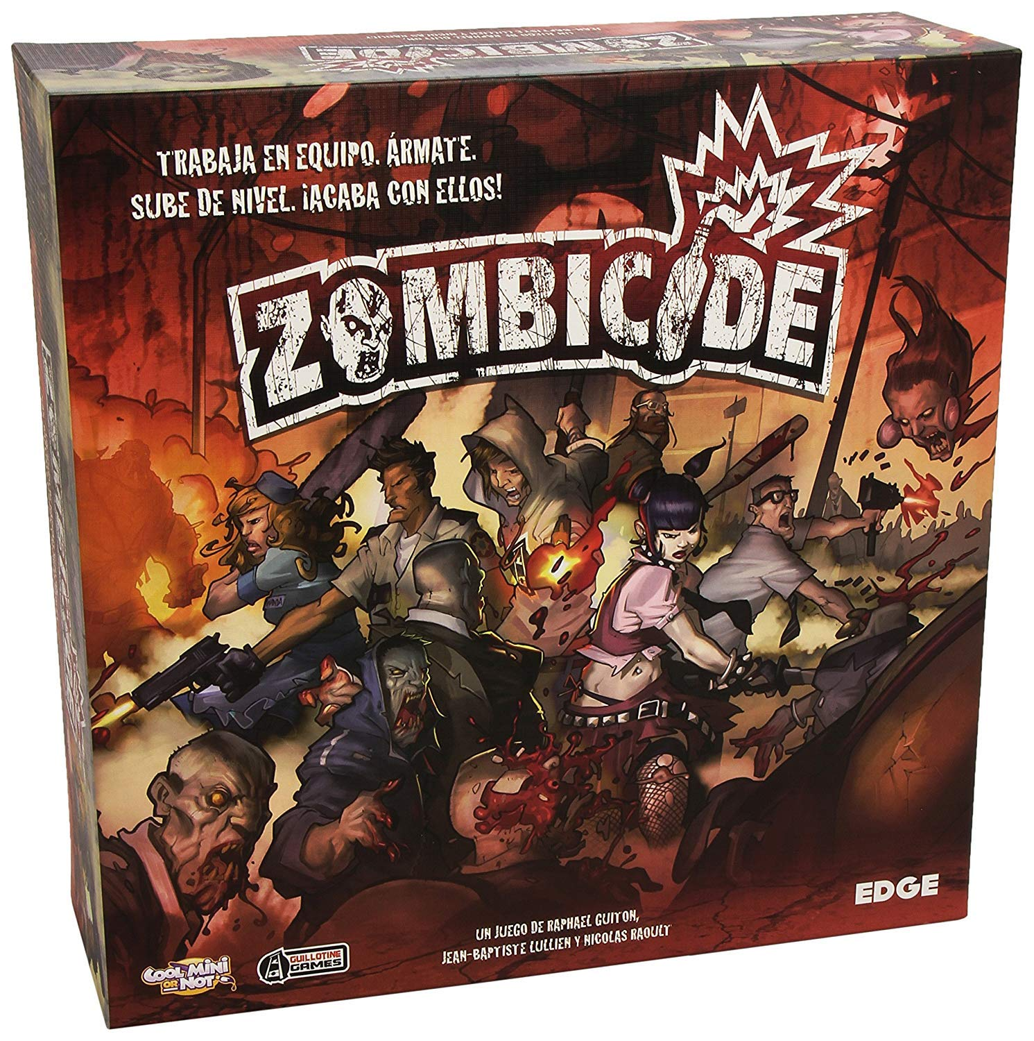 Edge Entertainment - Pack Zombicide + Expansión Toxic City Mall ...