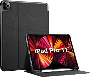 ProCase iPad Pro 11 Inch Case 2021 2020 2018, Slim Stand Protective Folio Case Smart Cover for iPad Pro 11