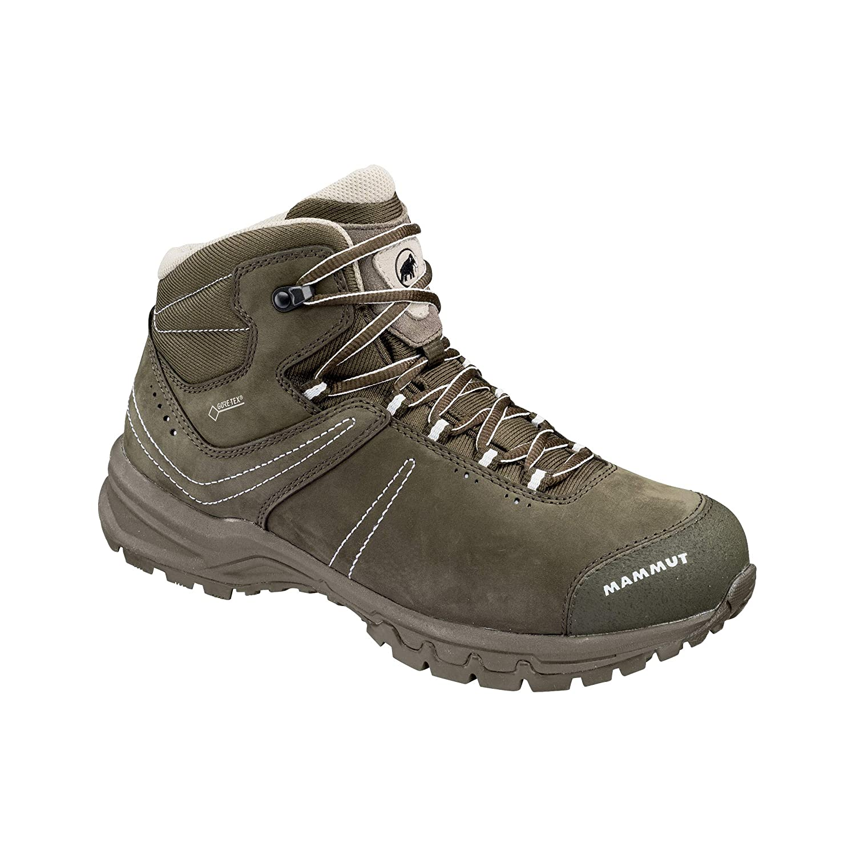 gris (Bark-blanc 0627) 38 2 3 EU Mammut Nova III Mid GtxÂ, Chaussures de Randonnée Hautes Femme
