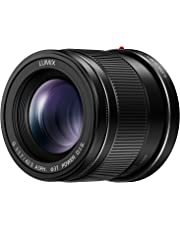 Panasonic H-HS043E-K Lumix - Objetivo (diámetro de 37 mm, Distancia Focal de 42.5 mm, Apertura de 1.7), Color Negro