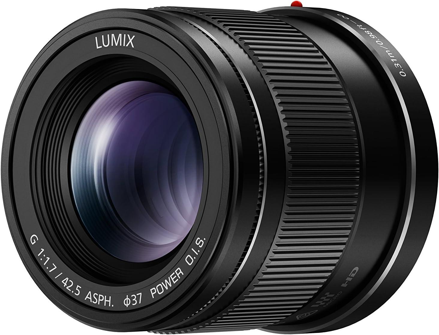 PANASONIC 25mm F1.7 ASPH Lumix G Black Garanzia 4 Anni FOWA