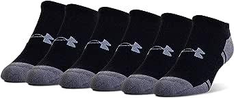 Under Armour Resistor 3.0 No Show Socks, 6-Pairs