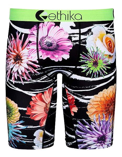 85b916317f5d Amazon.com: Ethika Midnight Floral Staple Boys Boxer Briefs: Clothing