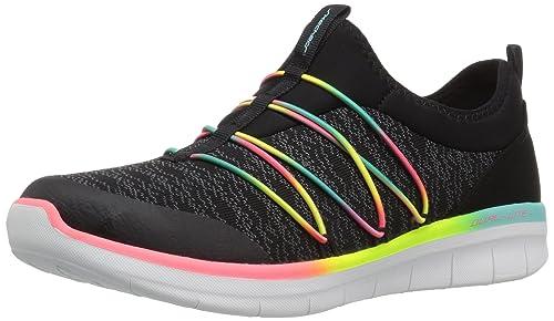 fd29d89c1075 Skechers Women 12379 Slip On Trainers  Amazon.co.uk  Shoes   Bags
