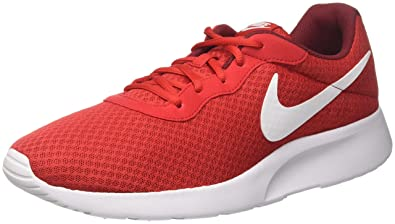 premium selection 50ff6 074fd Nike Tanjun, Baskets Homme, Rouge (University White-Team Red), 42