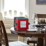 Household Essentials 530RED Holiday China Storage