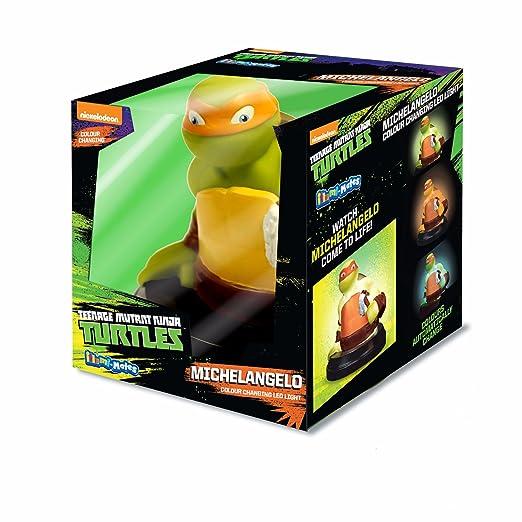 Tortugas Ninja Oficial - Lámpara de mesa de noche Illumi ...
