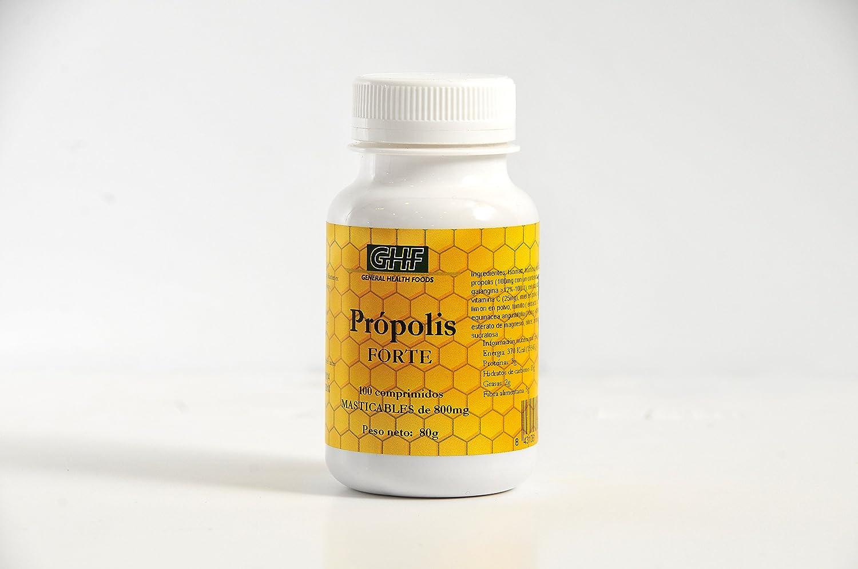 GHF - GHF Própolis 100 comprimidos masticables: Amazon.es: Salud y cuidado personal