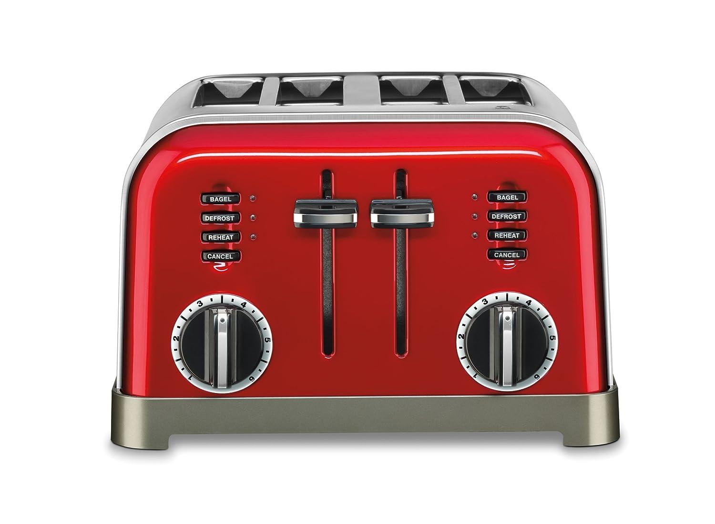 Cuisinart Metal Classic 4 Slice Toaster CPT-180MRC
