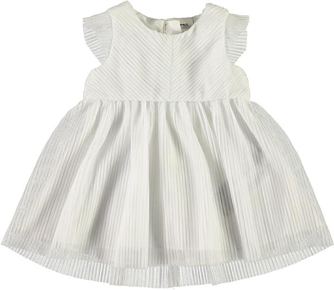 NAME IT - Ropa de bautizo - Sin mangas - para bebé niña: Amazon.es: Ropa y accesorios