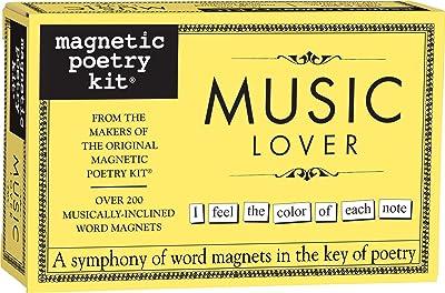 Music Lover Magnetic Poetry Kit
