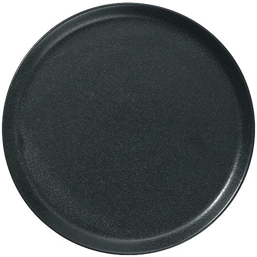 Vega Masca Series - Platos de porcelana para vajilla, color negro ...