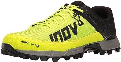 78d7fa24ae5 Inov-8 Men's Mudclaw 300 Trail Running Shoe, neon Yellow/Black/Grey